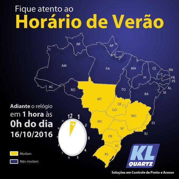 A CHEGADA DO HORÁRIO DE VERÃO