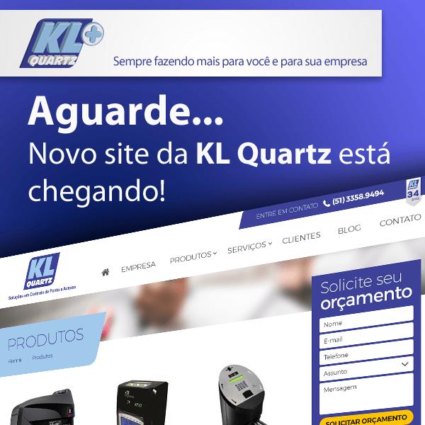 Novo Site da KL Quartz está no ar