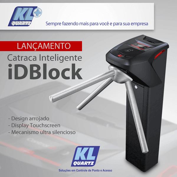 Mais Tecnologia no Mercado de Controle de ACESSO: CATRACA IDBLOCK