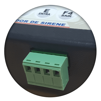Sirenes Acionador de Sirenes CP 64 Imagem 2