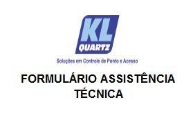 Outros Formulário Assistência Técnica – Para envio de Equipamentos
